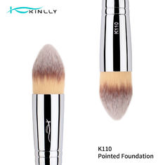 Flame Foundation Copper Ferrule Kabuki Brush For Blush