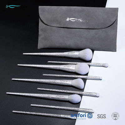 9pcs Plating 3D Full Makeup Kit With Brushes With Brush Bag