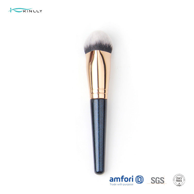 1pcs BSCI Copper Ferrule Foundation Makeup Brush